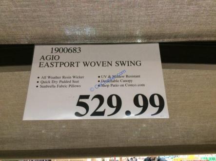 Costco-1900683-Agio-Eastport-Woven-Swing-tag