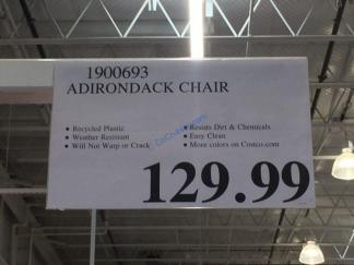 Costco-1900693-Leisure-Line-Classic-Adirondack-Chair-tag