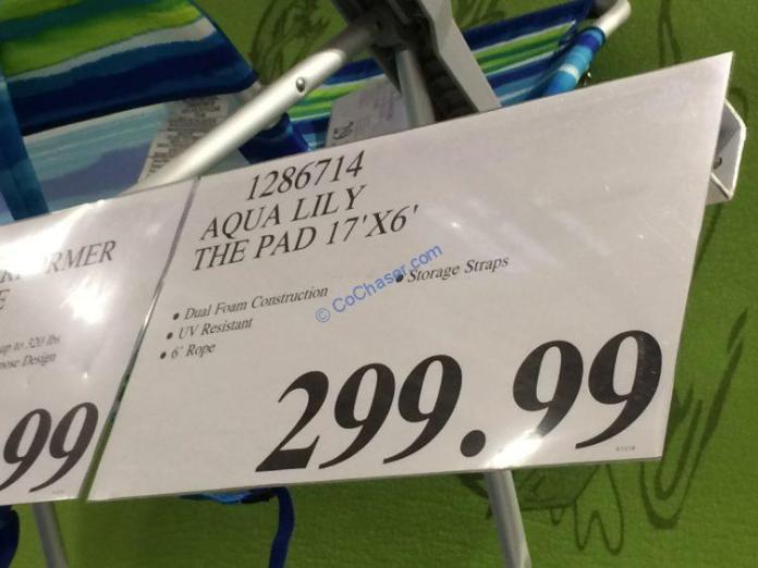 Costco-1286714-Aqua-Lily-The-Pad-tag