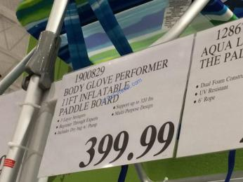 Costco-1900829-Body-Glove-Performer-Inflatable-Paddle-Board-tag