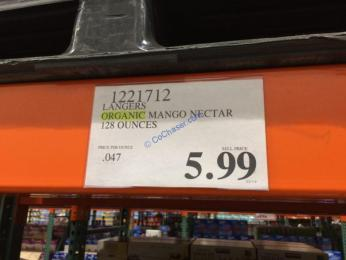 Costco-1221712-Langers-Organic-Mango-Nectar-tag