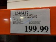 Costco-1248417-Hansgrohe-Lacuna-Pull-Down-Kitchen-Faucet-tag