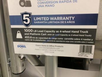 Costco-1274086-Cosco-3-in1-Convertible-Hand-Truck-part