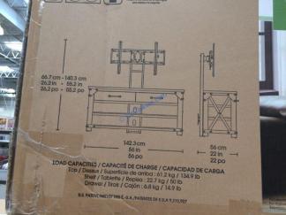 Costco-1288035-Bayside-Furnishers Walton-56-inch 3-in-1-TV-Stand-size