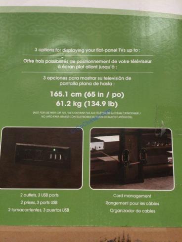 Costco-1288035-Bayside-Furnishers Walton-56-inch 3-in-1-TV-Stand-spec