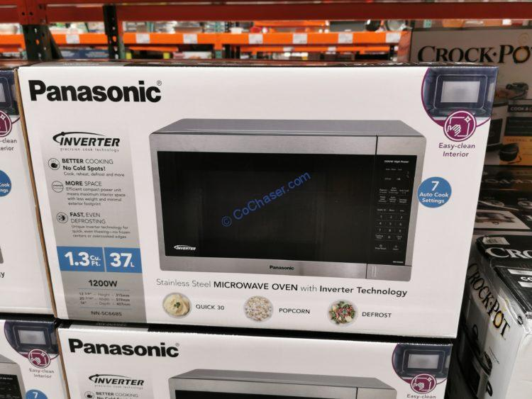 panasonic 1 3cuft countertop microwave