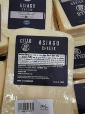 Costco-11456-Cello-Asiago-Cheese-Wedge-chart