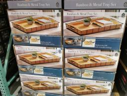 Costco-1338382-MESA-Bamboo-Metal-Serving-Tray-Set-all