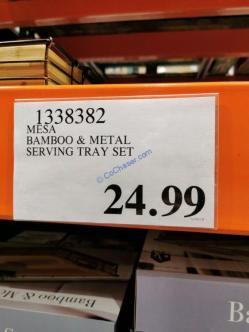 Costco-1338382-MESA-Bamboo-Metal-Serving-Tray-Set-tag