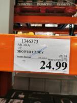 Costco-1346373-Artika-U2-Shower-Caddy-tag