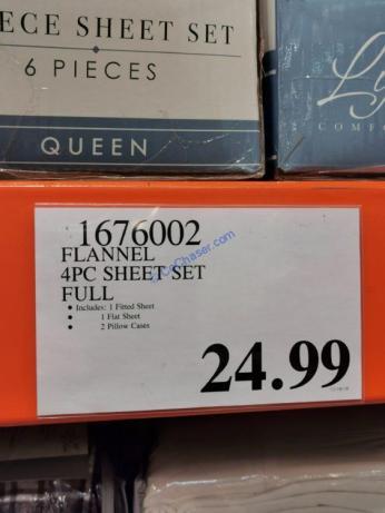 Costco-1676002-1676100-137610-Flannel-4PC-Sheet-Set-tag2