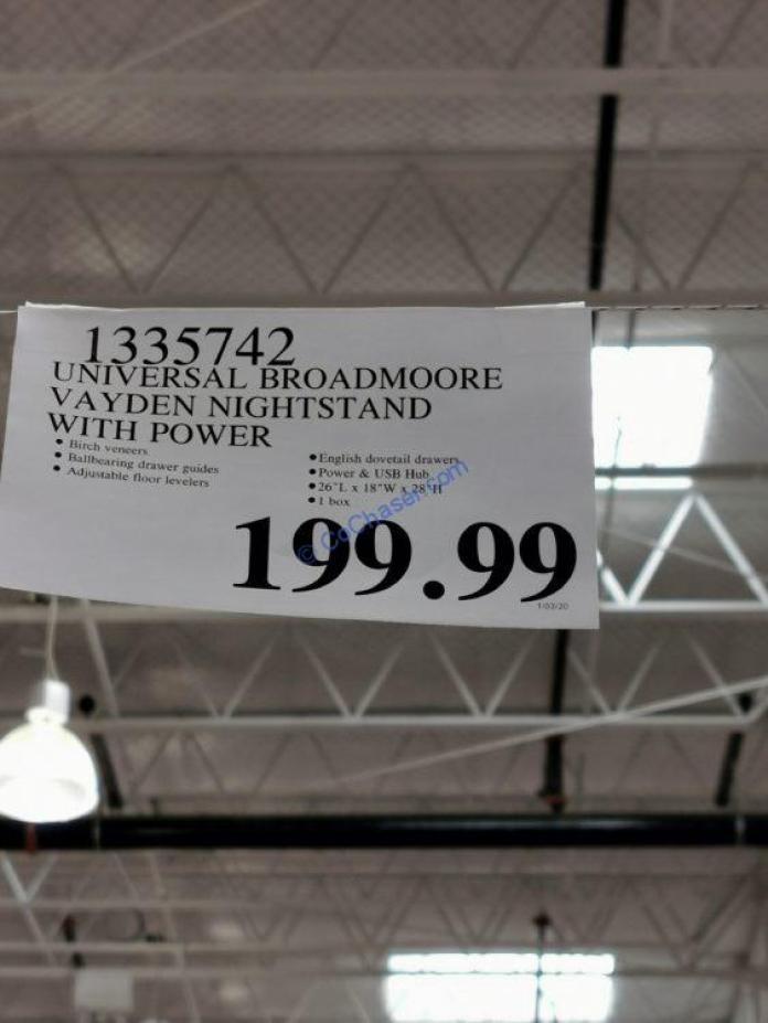 Costco-1335742-Universal-Broadmoore-Vayden-Nightstand-with-Power-tag