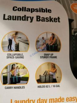 Costco-1360538-CleverMade-Collapsible-Laundry-Basket-Tote-use
