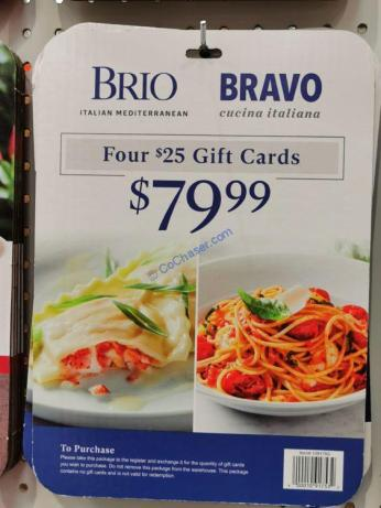 Costco-1091753-Bravo-Brio-Restaurants-Gift Cards