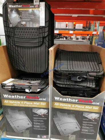 Costco-1240931-WeatherTech-4-piece-Trim-to-Fit-Car-Mats-all