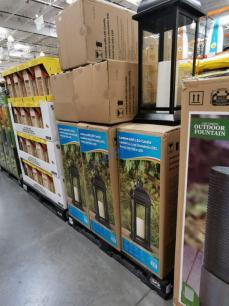 Costco-1902220-Steel-Lantern-with-LED-Candle-all