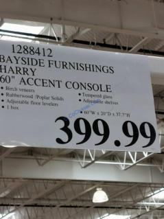 Costco-1288412- Bayside-Furnishing-Harry-60-Accent-Console-tag