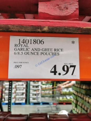 Costco-1401806-Royal-Garlic-and-Ghee-Rice-tag