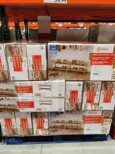 Costco-1476753-TRINITY-Bamboo-Shoe-Rack-all