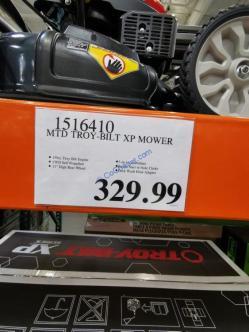 Costco-1516410- MTD-Troy-Bilt-TB235-XP-Mower-tag