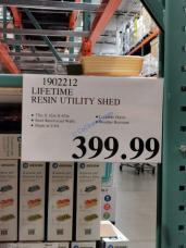 Costco-1902212-Lifetime-Resin-Utility-Shed-tag