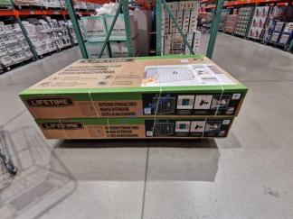 Costco-1902212-Lifetime-Resin-Utility-Shed