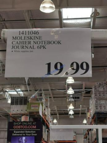 Costco-1411046-Moleskine-Cahier-Notebook-Journal-tag