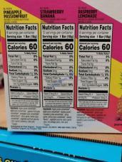 Costco-1472774-Pure-Organic-Layered-Fruits-Bars-chart