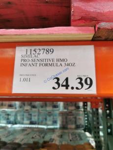 Costco-1152789-Similac-PRO-Sensitive-HMO-Infant-Formula-tag