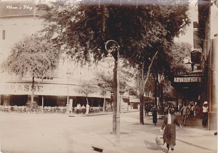 Đường Catinat - Patisserie