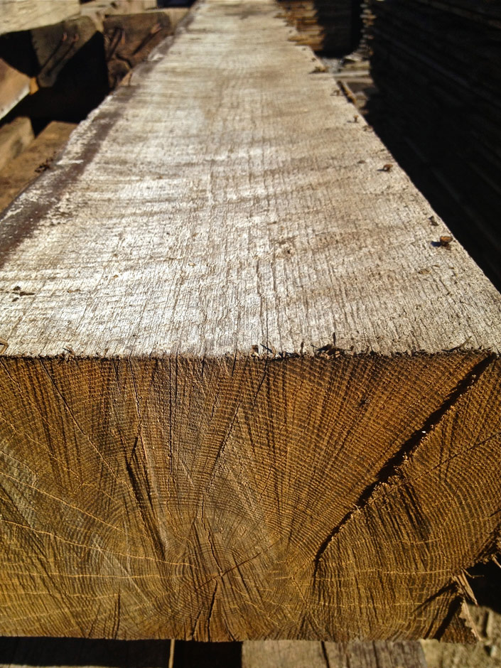Rough Sawn Antique Oak Timber  Cochrans Lumber