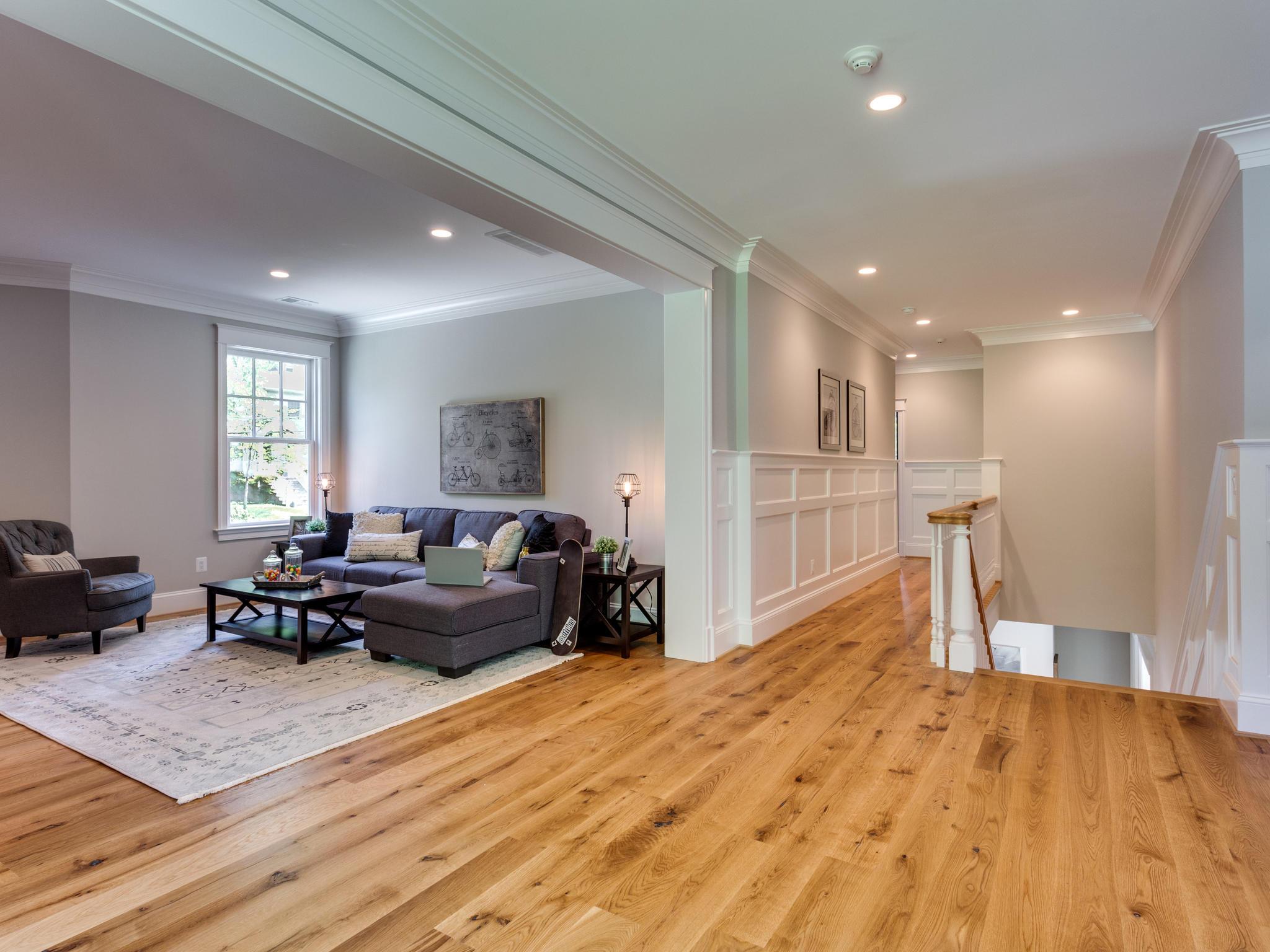 oak wood floor living room reading lamps live sawn white flooring cochran s lumber image of natural