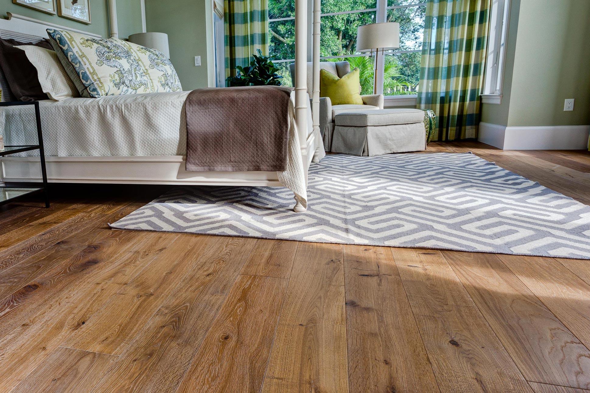 Fumed White Oak Flooring
