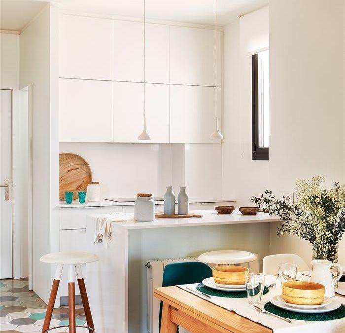 Cocinas peque as s cales el m ximo partido for Ver disenos de cocinas pequenas