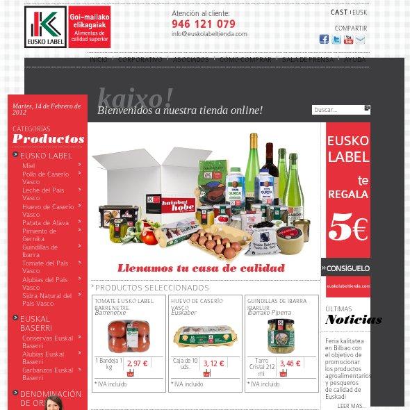 12 sitios web donde comprar comida online