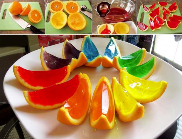 Cascos de gelatina divertidos receta por Ana Godoy