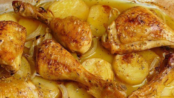 Cocina Facil Pollo Al Horno
