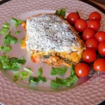 Receta de Paccheris rellenos con bacalao y espinacas