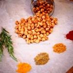 Aperitivos vegetarianos – Snack de garbanzos especiados