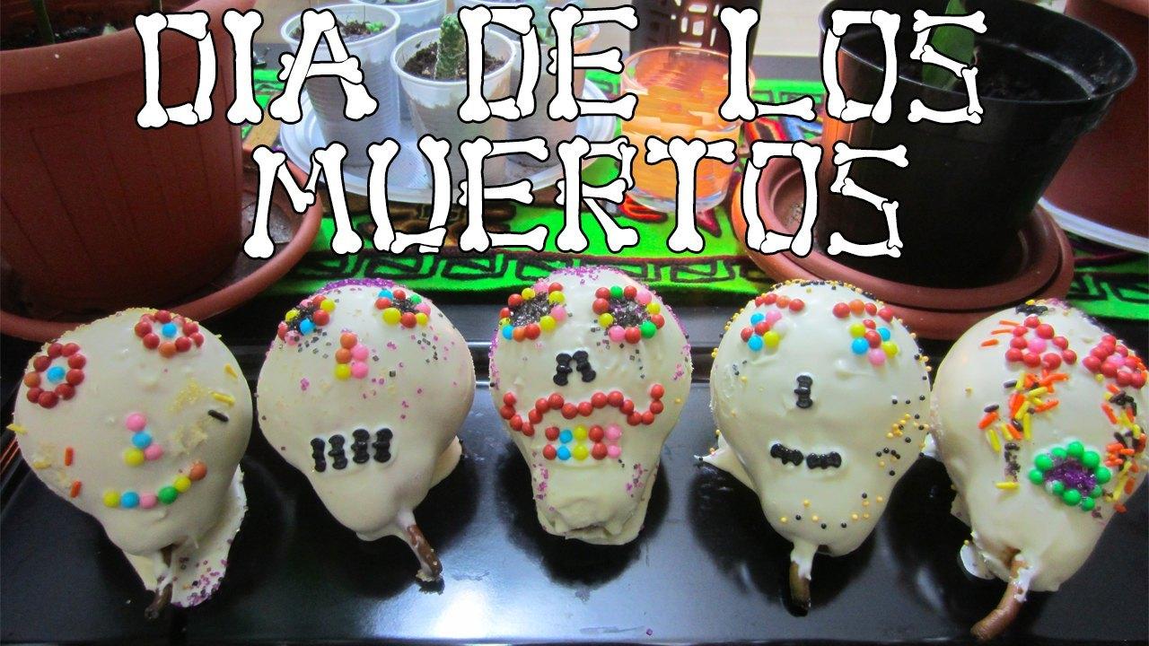 Calaveras de chocolate! Dia de los muertos! Halloween