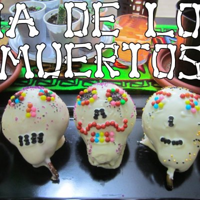 Calaveras de chocolate
