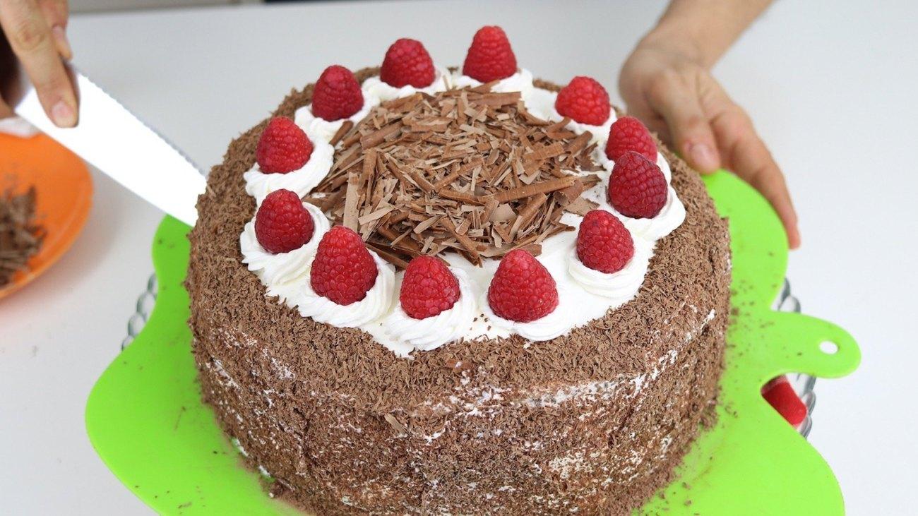 Tarta selva negra – receta original de Schwarzwälder Kirschtorte