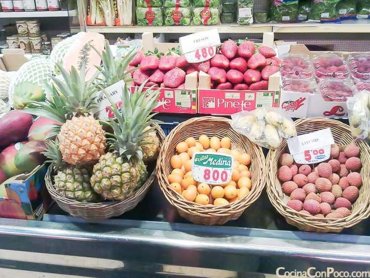 Mercado de la Paz Barrio Salamanca Madrid