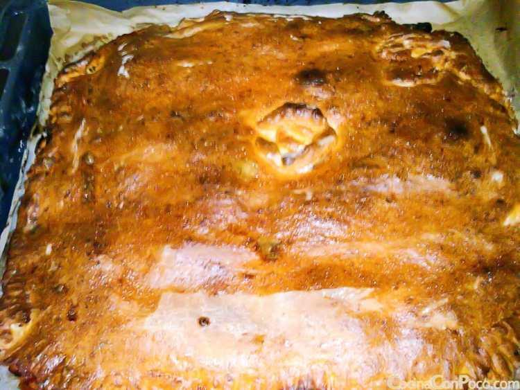 Empanada gallega sin gluten