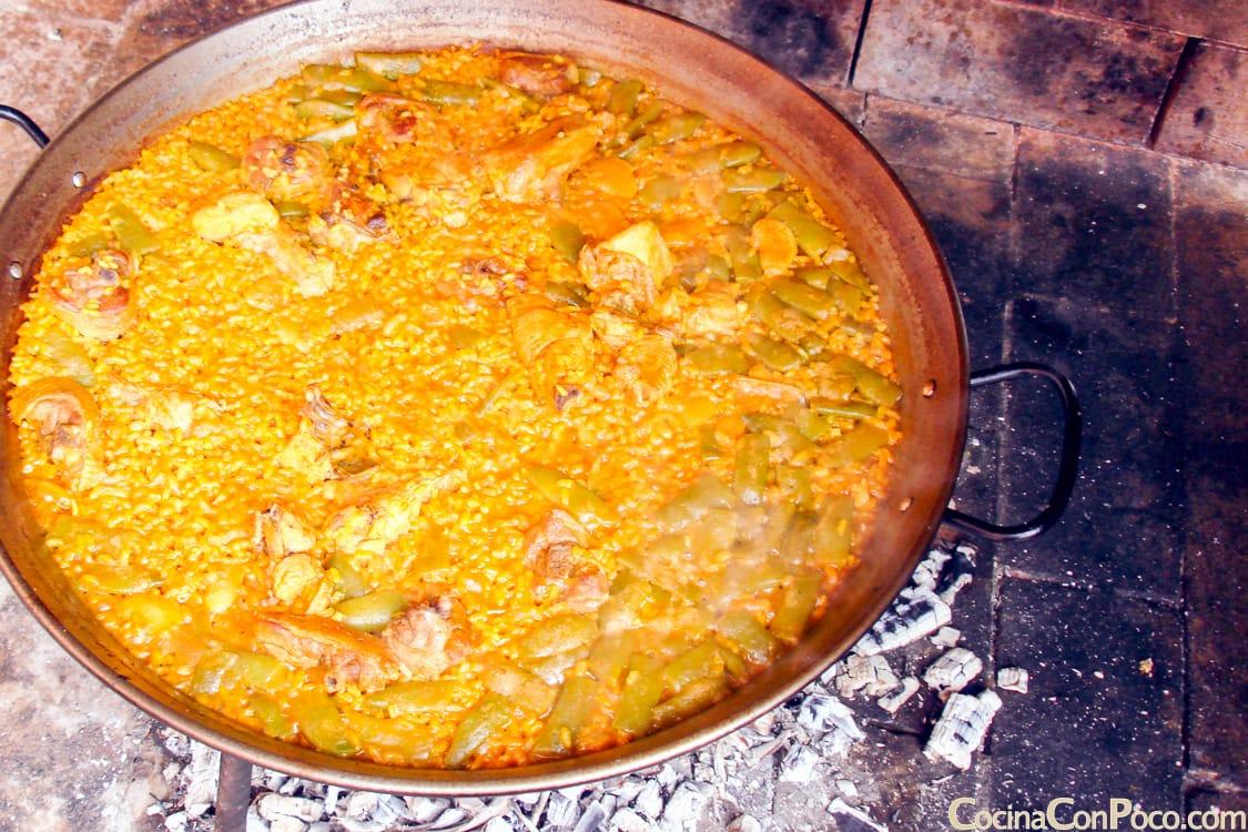 Paella valenciana - receta paso a paso