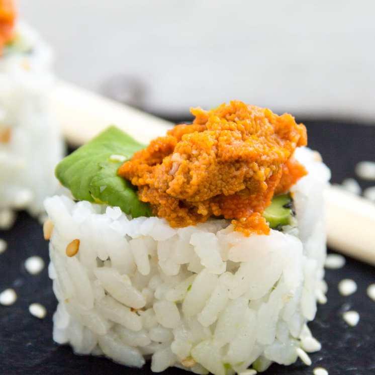 caviar de erizos Uramaki Sushi
