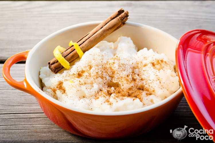 arroz con leche receta original fácil asturiana