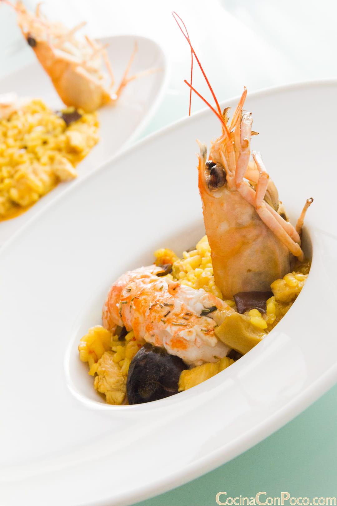 arroz meloso con cigalas