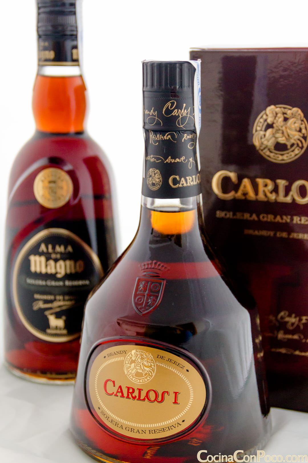 receta de carajillo con brandy de Jerez