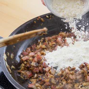 croquetas de setas y bacon receta paso a paso sin gluten